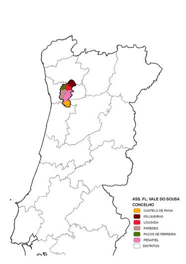 mapa de portugal lousada Forestis mapa de portugal lousada