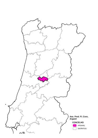 arganil mapa Forestis arganil mapa